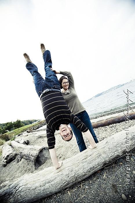 Engaged: Rebecca + Glenn
