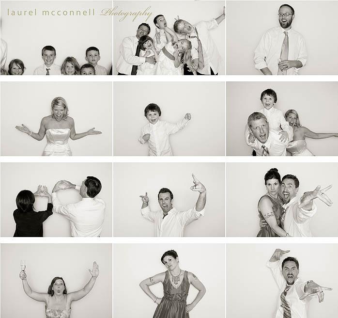 Hitched: Kelly + Erik's Wedding Photobooth