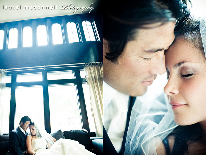 modern romantic wedding photographs by seattle photographer laurel mcconnell