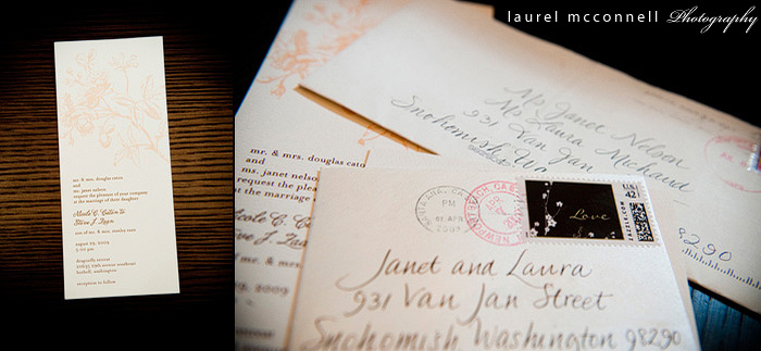 couture vintage wedding invitations by seattle wedding photographer studio laurel mcconnell photography