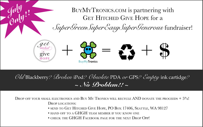 Bridal Charity Green Recycling Fundraiser