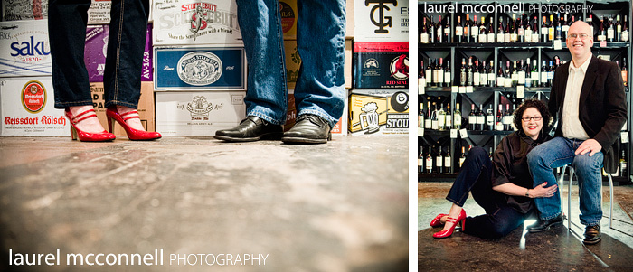 the owners of full throttle bottles, a specialty wine and beer  shop in georgetown seattle