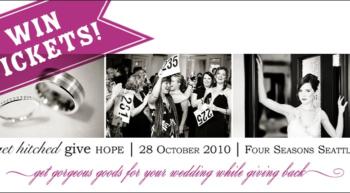Blog Giveaway! Win Tickets to Get Hitched Give Hope's Bridal Auction!