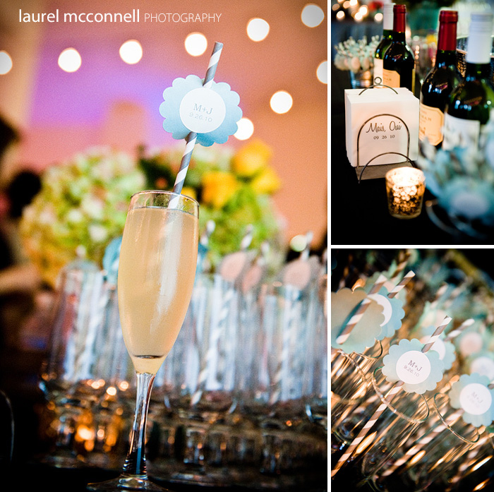 signature wedding cocktails french 75 parisian theme