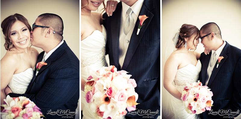 glamorous pink and orange wedding near seattle at the tulalip resort wedding