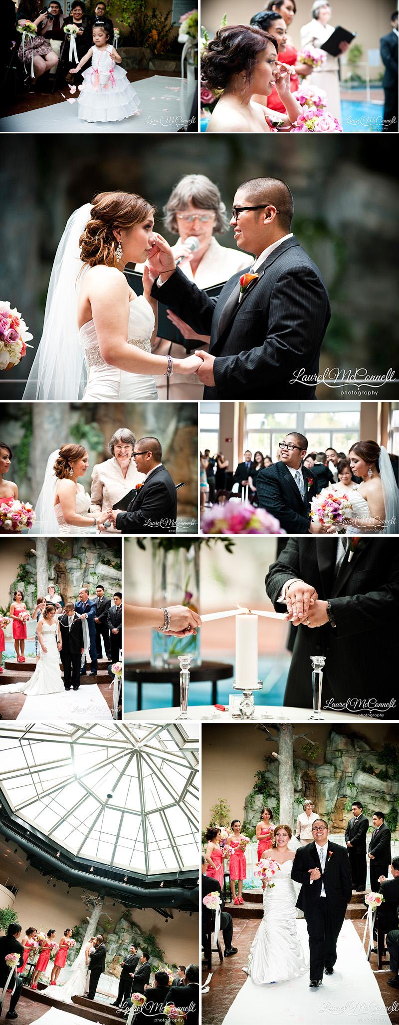 wedding photos of filipino ceremony at the tulalip casino
