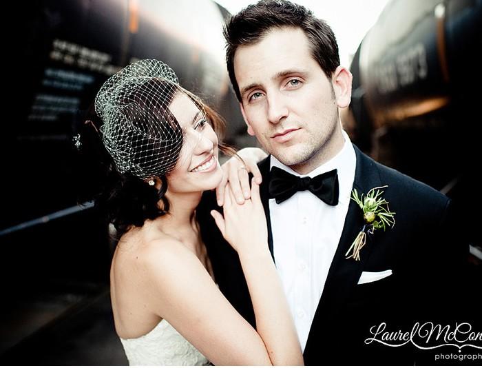 Finally Mumm: A Stylish Industrial Warehouse Wedding