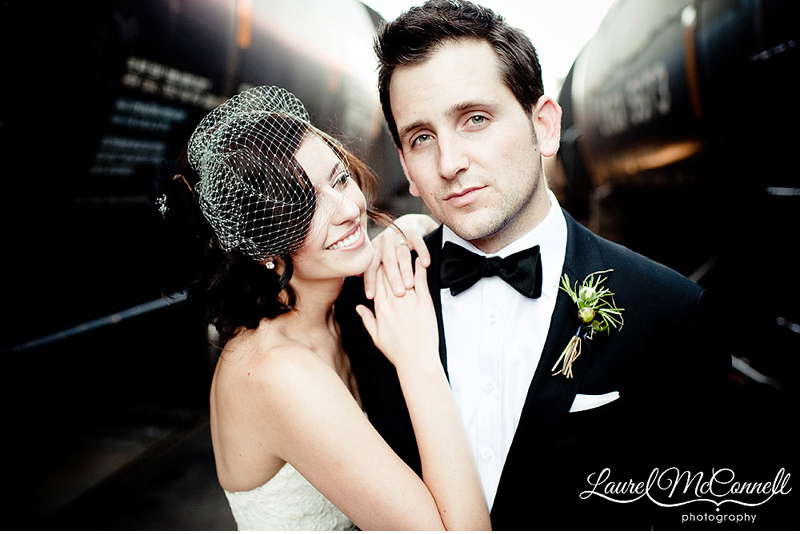 james bond groom by industrial trains for sodo seattle wedding