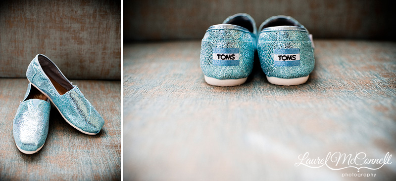 blue wedding shoes by toms