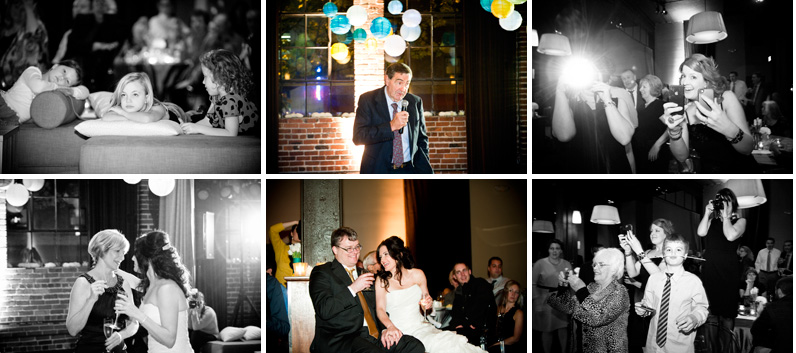 wedding toasts at the palace ballroom