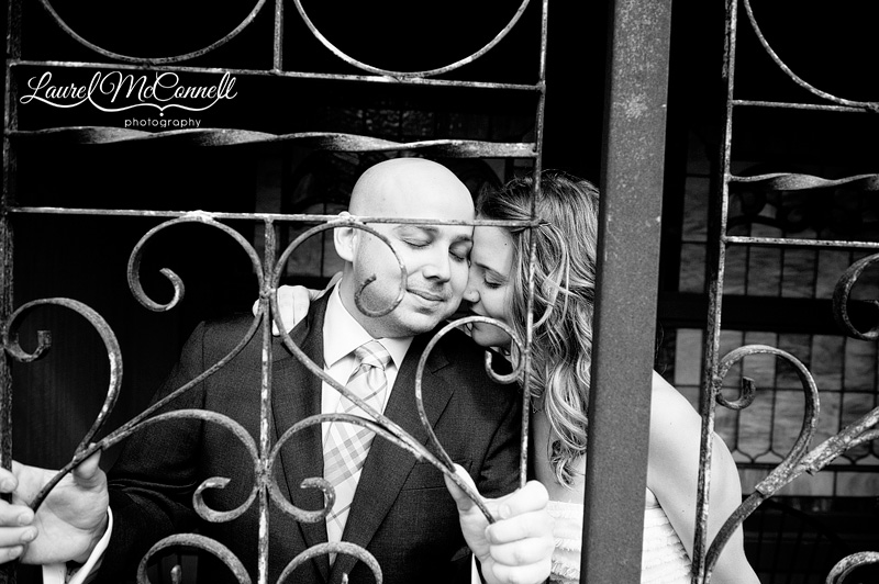 romantic black and white photography by seattle wedding photographer laurel mcconnell