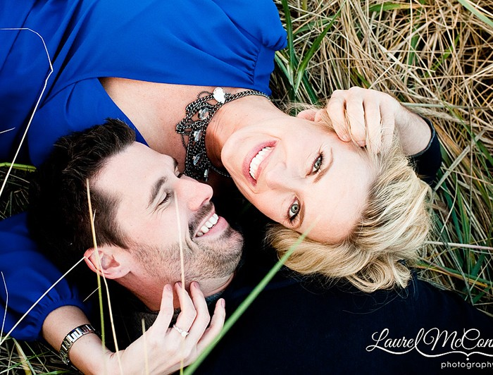Engaged! Katie and Mitch's Supersweet Fall Engagement Pictures