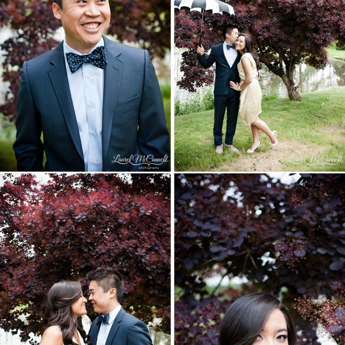 Pre-Wedding Adorable-ness at Woodinville Winery Engagement Session.