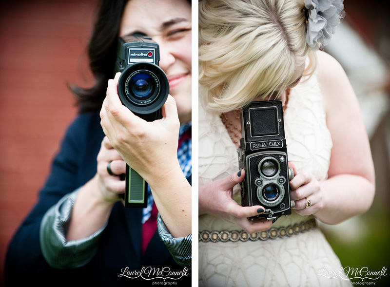 Photographer and videographer brides.