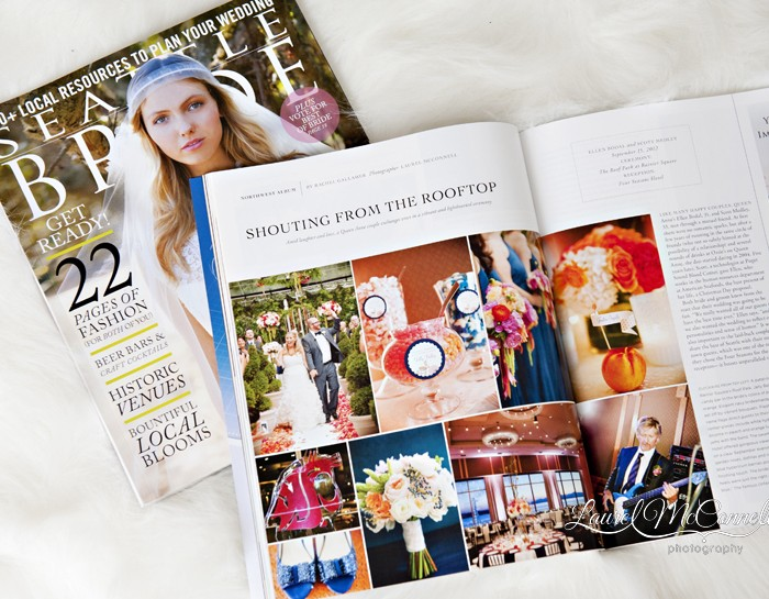 Seattle Bride Magazine Feature