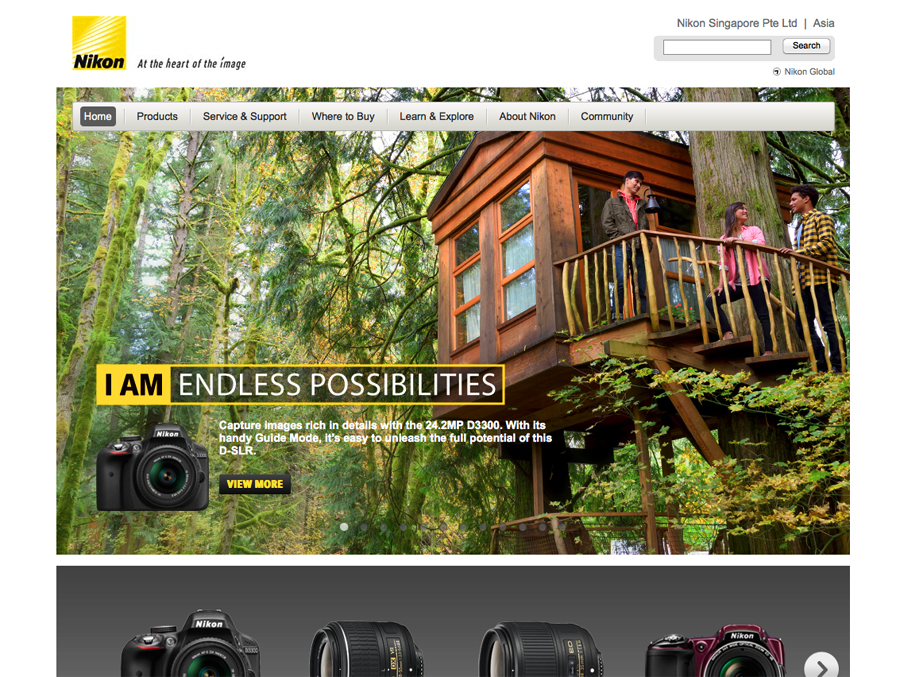 nikon advertising photography