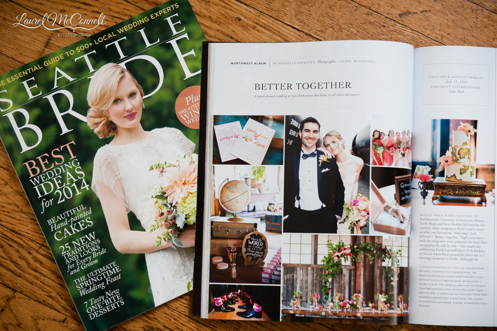 Seattle Bride real wedding feature Sodo Park