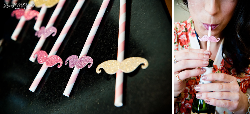 Fun, quirky wedding favors and minicures.