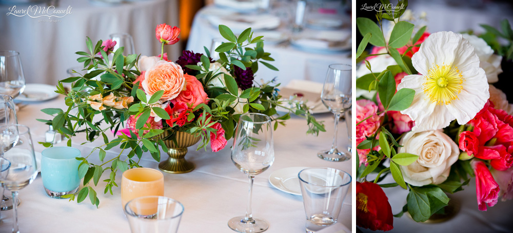 Gorgeous Seattle wedding floral arrangements.