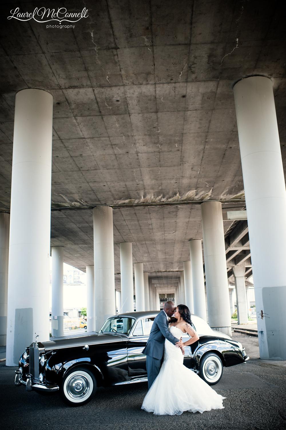 British Motor Coach wedding car
