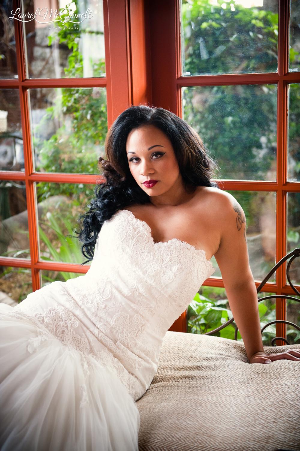 Gorgeous bridal portraits Seattle wedding photographer.