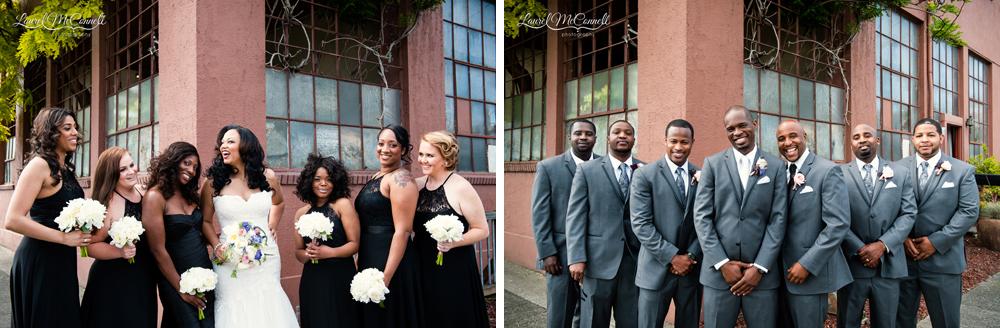 Seattle wedding photographer bridal portraits.
