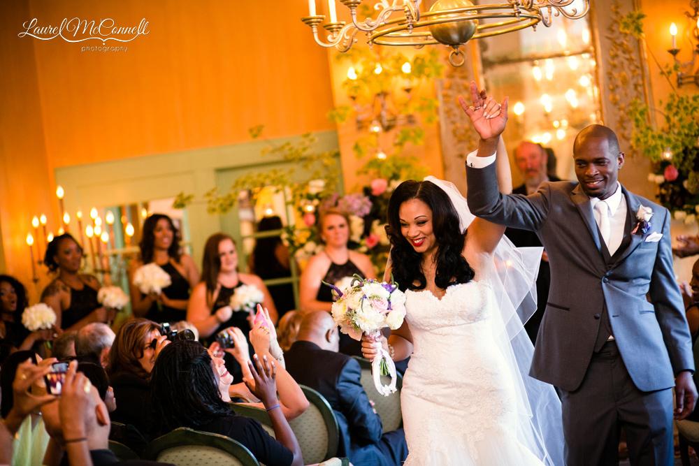 The Ruins wedding ceremony.