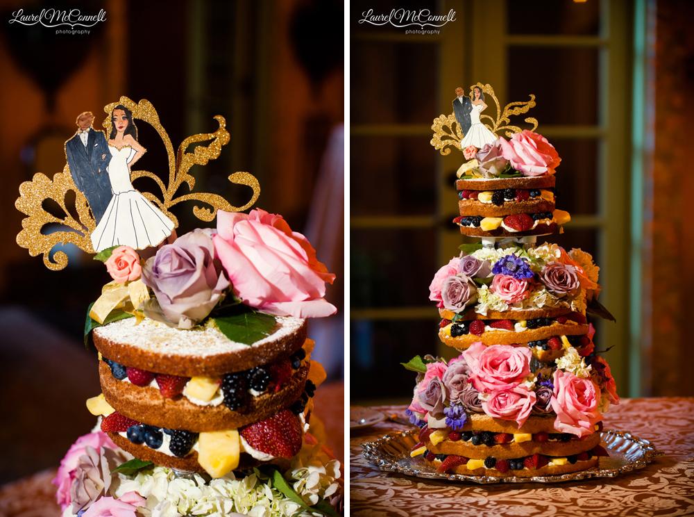 Unique wedding cake alternatives.