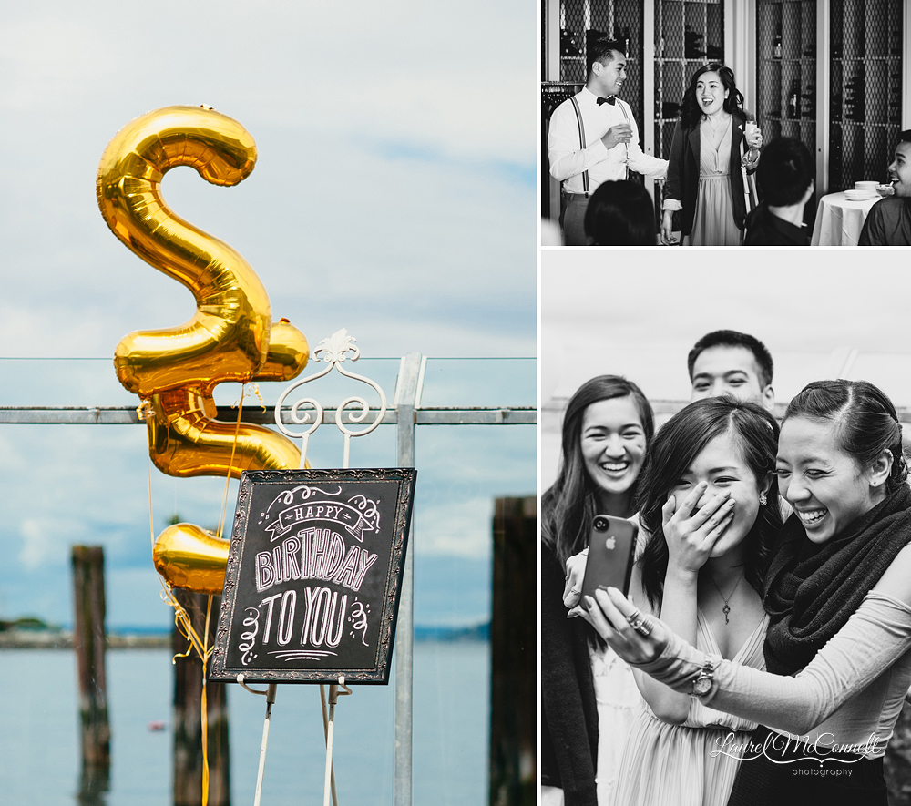 A Surprise Birthday Party Turned Proposal At Saltys In