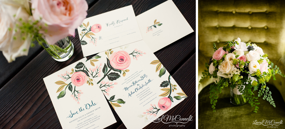 Wedding invitations designed by Rifle Paper Co.