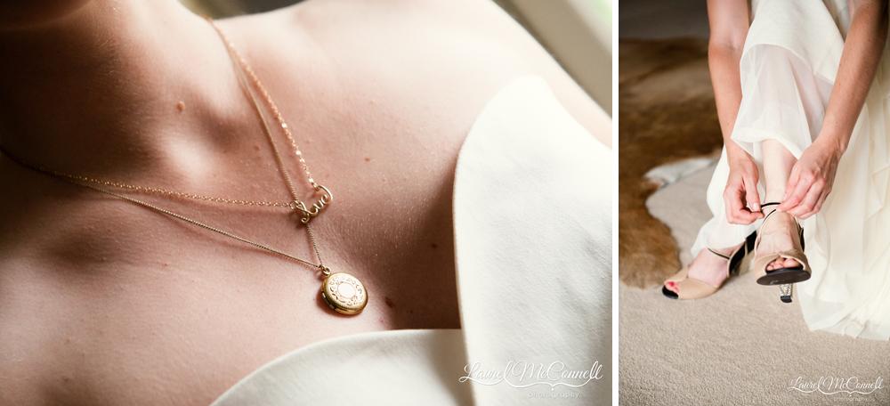 Unique personalized bridal jewelry.