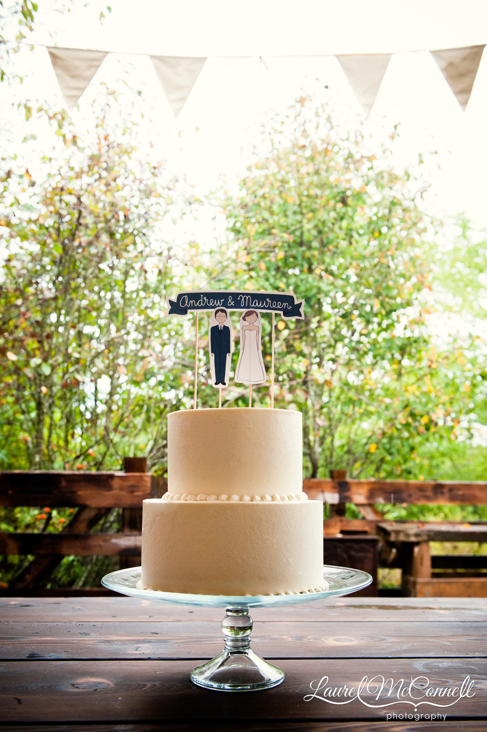Macrina bakery wedding cake Seattle.