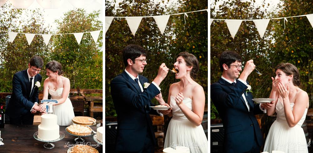 Macrina bakery wedding cake Vashon Island.