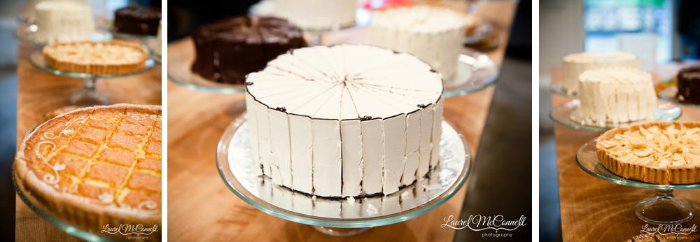 Wedding desserts by Seattle's Macrina bakery.