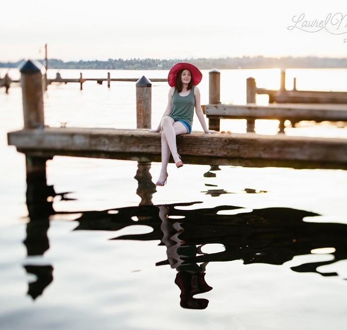 Sunshine-y Senior Session :: Seattle Portrait Photography