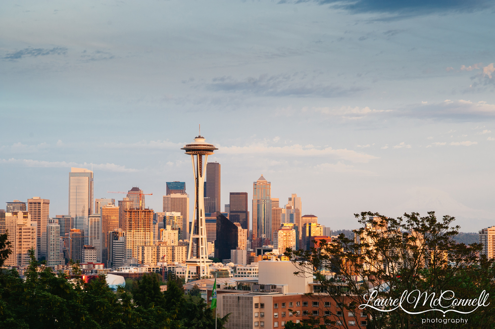View of downtown Seattle from Kerry Park.
