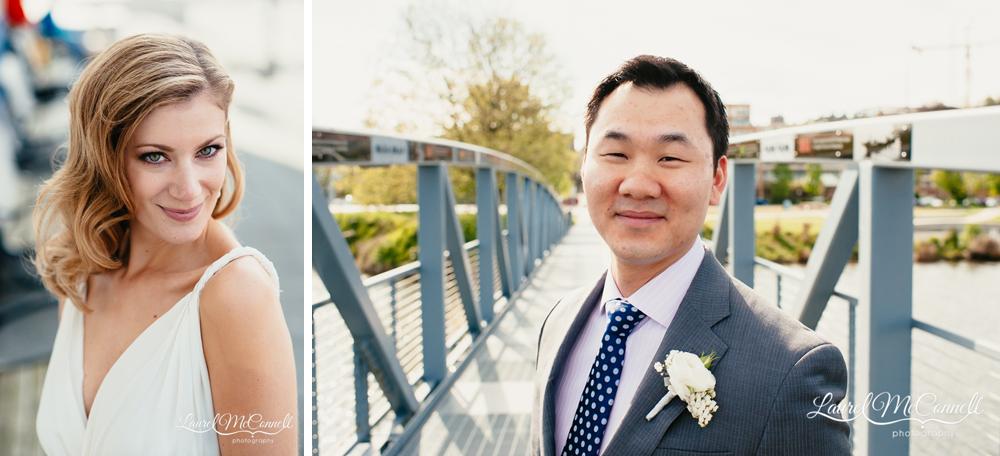 Beautiful wedding portraiture by Seattle wedding photographer Laurel McConnell.