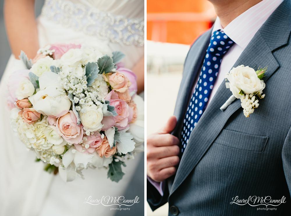 Wedding floral created by Seattle's Floressence.