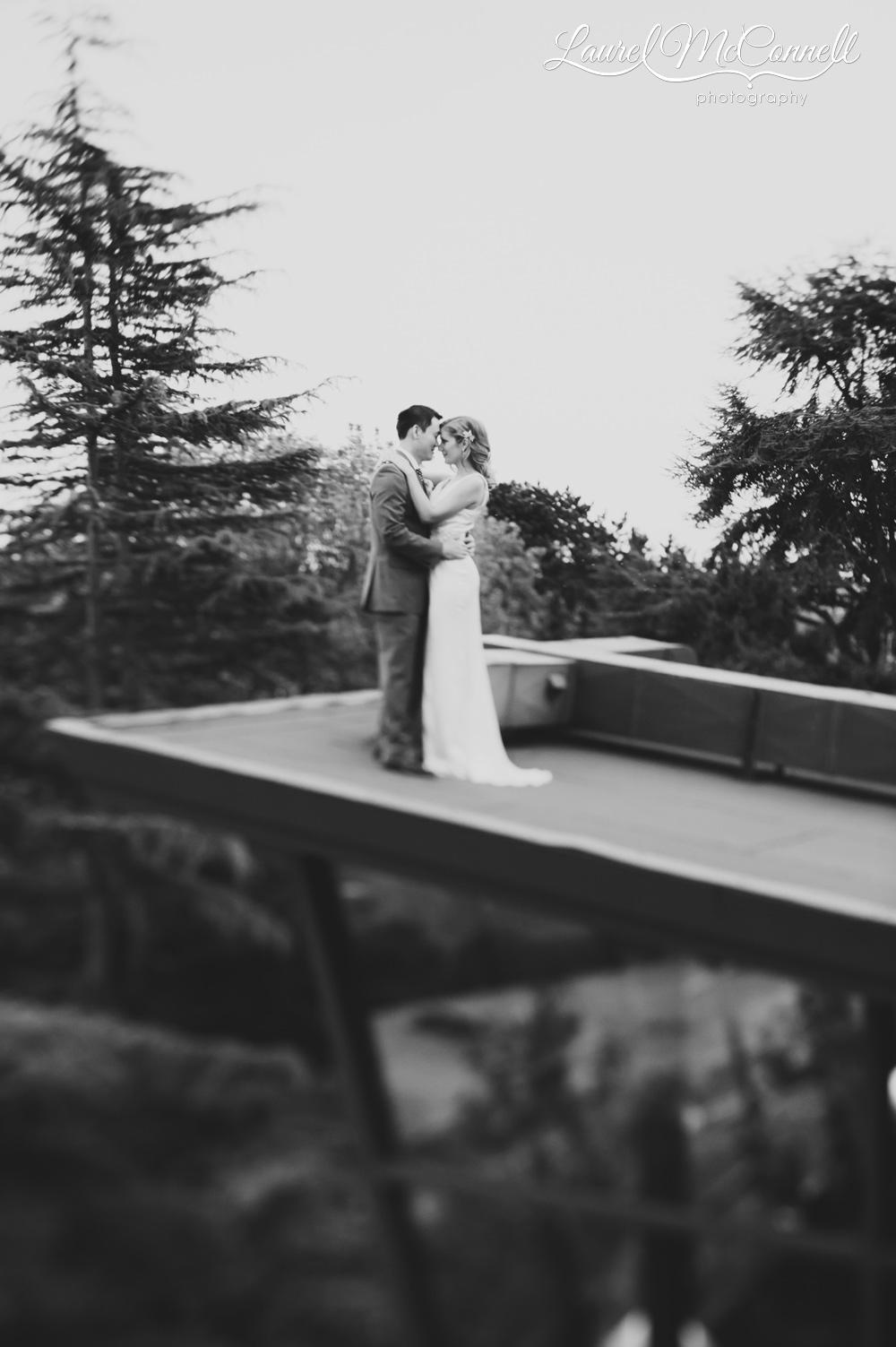 Urban, Pacific Northwest wedding venue Canlis restaurant in Seattle, Washington.