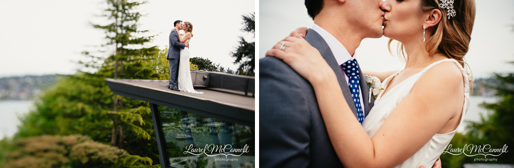 Canlis weddings by Seattle photographer Laurel McConnell.