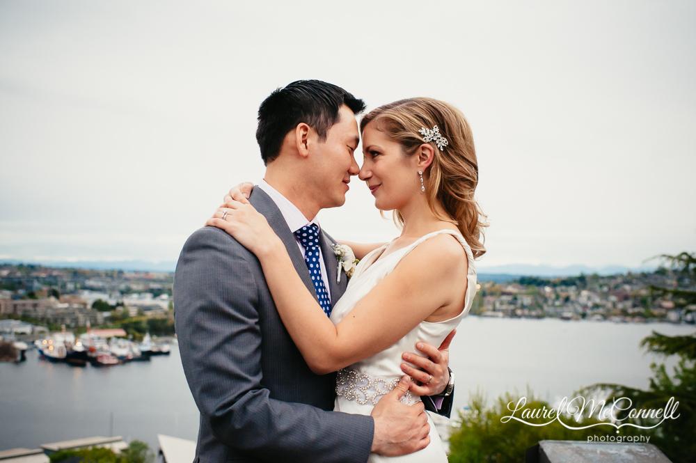 Iconic Seattle Lake Union wedding venue.
