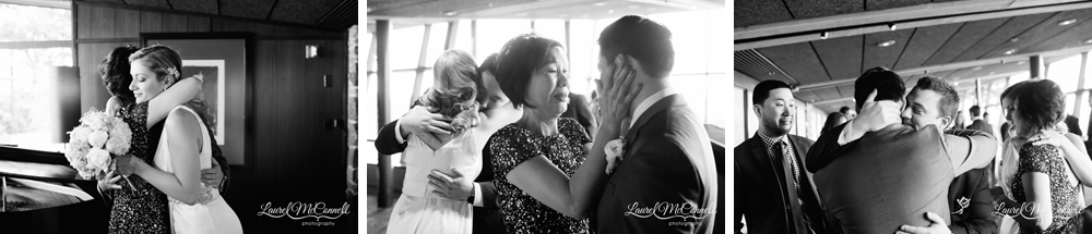 Sweet, candid wedding photography by Laurel McConnell Photography.
