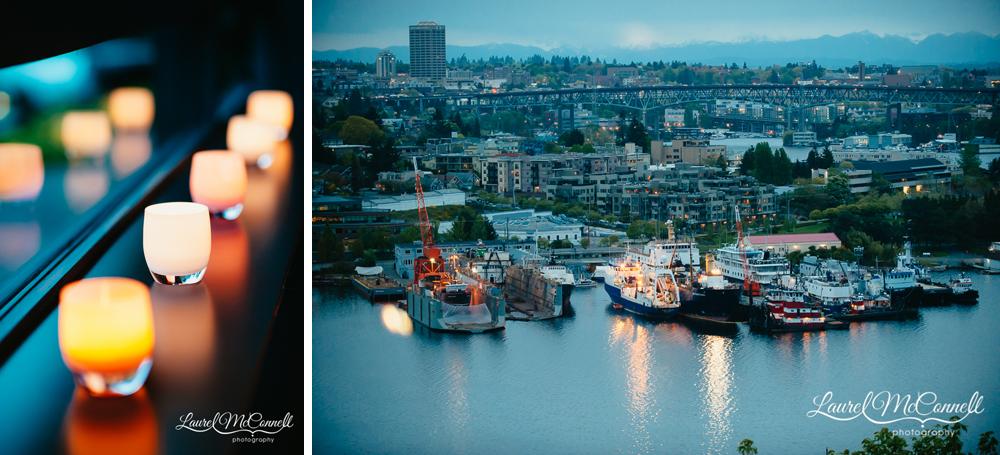 Urban, indoor wedding venues in Seattle, Washington.