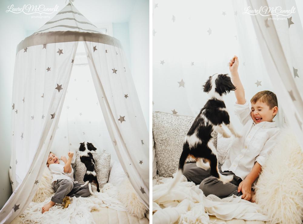 boy-puppy-tent
