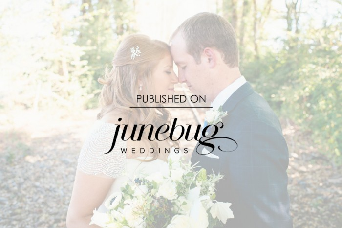 Navy Blue and Sage Columbia Winery Wedding featured on Junebug Weddings