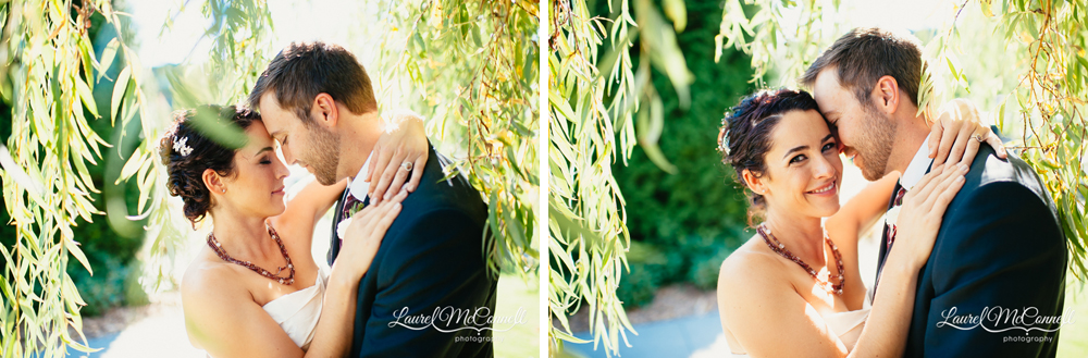 Fun, beautiful wedding portrait photography by Seattle photographer Laurel McConnell.