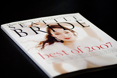 Published in This Issue of Seattle Bride Magazine!