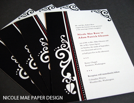 Vendor Profile: Nicole Mae Paper Design