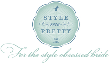 Style Me Pretty Features One of Laurel McConnell Photography's Weddings!