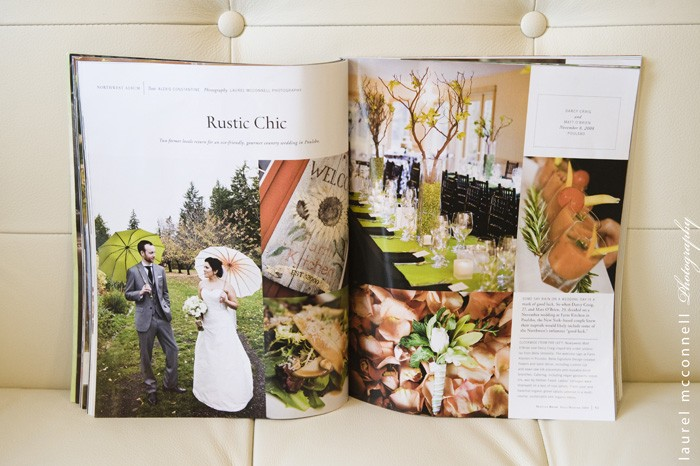 One Of Our Fav Weddings is Seattle Bride Magazine's Too!